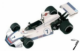 Brabham BT44B FORD German G.P.  1/43