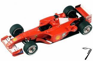 Ferrari F2001  Malaysian G.P.  1/43