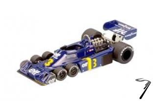 Tyrrell P34 FORD Dutch G.P.  1/43