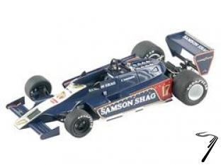 Shadow DN9b FORD Argentine G.P.  1/43