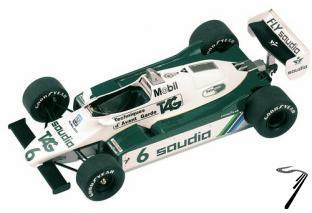 Williams FW08 FORD Switzerland G.P.  1/43