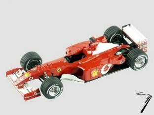 Ferrari F2001  Australian G.P.  1/43