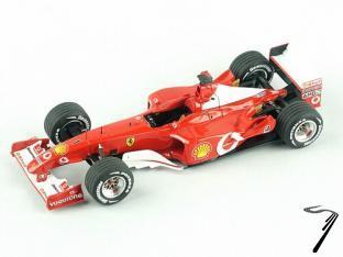 Ferrari F2002  Canadian G.P.  1/43