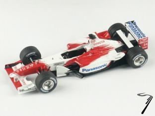 Toyota TF 102  Monaco G.P.  1/43