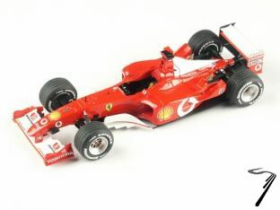 Ferrari F2002   French G.P.  1/43