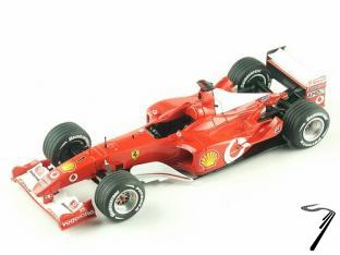 Ferrari F2002  Australian G.P.  1/43