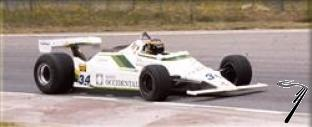 Williams FW07 FORD Spanish G.P.  1/43