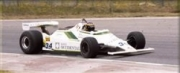 Williams FW07 FORD Spanish G.P.  1/43