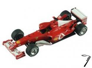 Ferrari F2003-GA  Monaco/Canadian G.P.  1/43