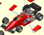 Ferrari 126 C3 German GP open body  1/43