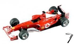 Ferrari F 2003 GA GP Italie  1/43