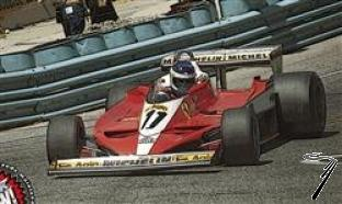 Ferrari 312 T3 1er GP des USA Ouest  1/43