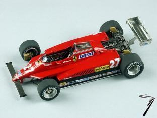 Ferrari 126 C2 GP d'Afrique du sud  1/43