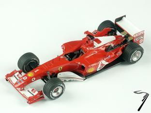 Ferrari F 2004 1er GP Australie  1/43