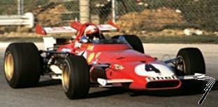 Ferrari 312 B 1er GP Italie  1/43