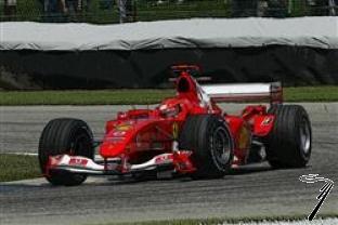 Ferrari F 2004 1er GP Canada  1/43