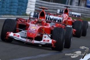 Ferrari F 2004 GP Belgique 7ième titre  1/43