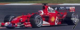 Ferrari F 2004 1er GP Chine  1/43