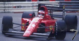 Ferrari 642 GP Monaco  1/43