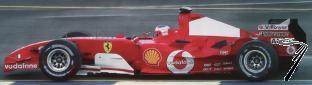 Ferrari F2004M  GP Australie  1/43
