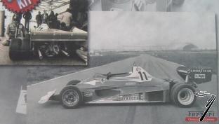 Ferrari 312 T2  6 roues  1/43