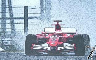 Ferrari F 2005 GP Japon  1/43