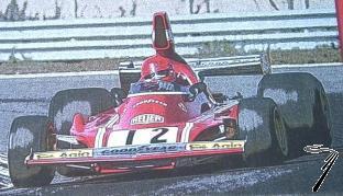 Ferrari 312 B3 1er GP Hollande  1/43