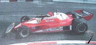 Ferrari 312 T2 1er GP Monaco  1/43
