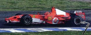 Ferrari 248 F1 1er GP Brésil  1/43