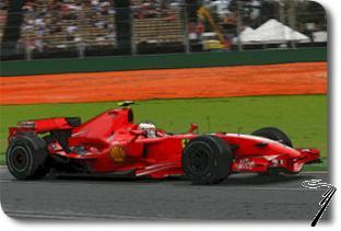 Ferrari F2007 1er GP Australie - kit à monter  1/43