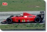 Ferrari F1-89 1er GP Hongrie  1/43