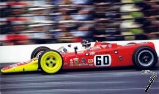 Lotus Type 56 turbine #60 Indy 500  1/43