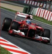 Ferrari F138 1er ou 3ème GP d'Espagne  1/43