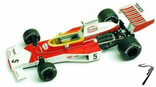 Mac Laren M23 FORD Brazilian G.P.  1/43