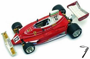 Ferrari 312T  Monaco G.P.  1/43