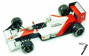 Mac Laren MP4/4 Honda 1er GP Japon Champion du monde  1/43