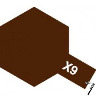 Divers X9 10 ml marron brillant  X9 10 ml marron brillant autre
