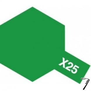 Divers X25 10 ml vert transparent brillant X25 10 ml vert transparent brillant autre