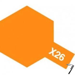 Divers X26 10 ml orange transparent brillant X26 10 ml orange transparent brillant autre