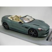 Aston Martin Vanquish Verte - intérieur crème - jantes noires Verte - intérieur crème - jantes noires 1/18