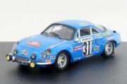 Alpine Renault A110 1600S Monte Carlo  1/43