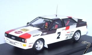 Audi Quattro 1er Rallye Suede Audi Collection  1/43