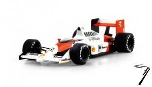 Mac Laren MP4/5 1er GP Allemagne  1/43