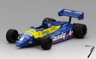 Tyrrell 011 8eme GP Monaco  1/43