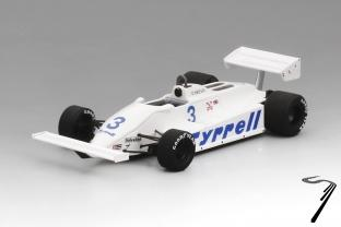 Tyrrell 011- GP Allemagne  1/43