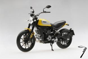Ducati Scrambler Classic 803cc orange Sunshine   1/12
