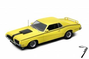 Ford . Cougar eliminator Couleurs Variables 1/18