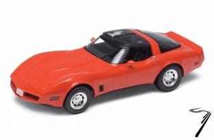 Chevrolet Corvette Coupé rouge Coupé rouge 1/18