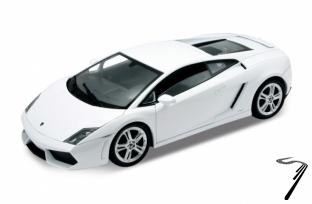 Lamborghini Gallardo LP560-4 blanc LP560-4 blanc 1/18
