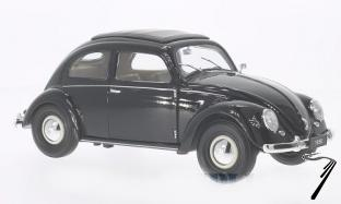 Volkswagen . noir 1/18